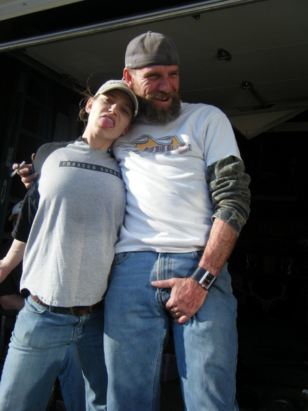 Fubar Iffers Photo -- Bad Ass Girl And The Naked Truck -9984